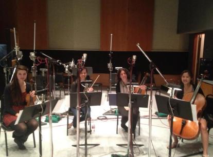 Recording at Capitol Records